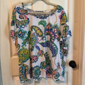 Cute colorful top from Talbots